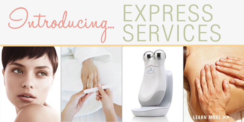Express salon and spa services